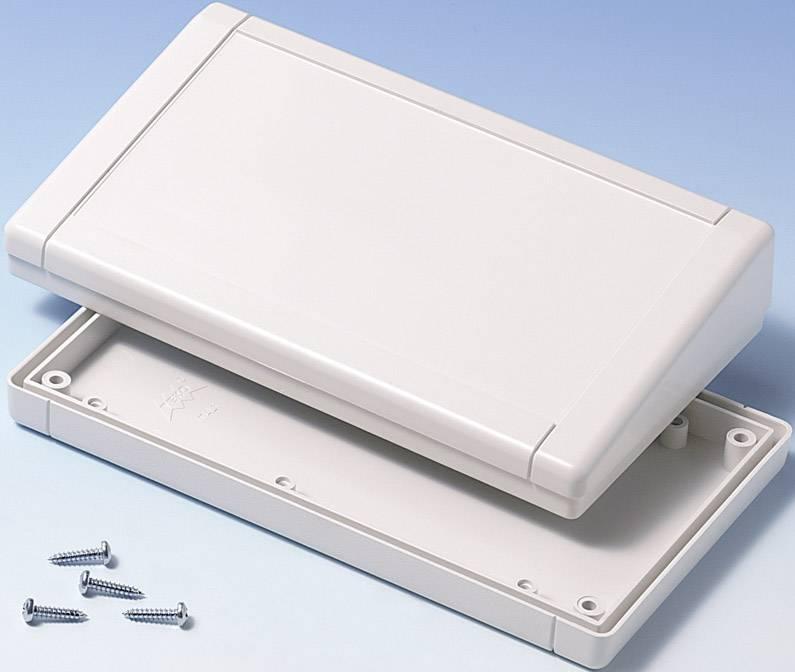 Plastová krabička TEKO TB-1SP.7, 160 x 94 x 36.5 mm, ABS, biela, 1 ks