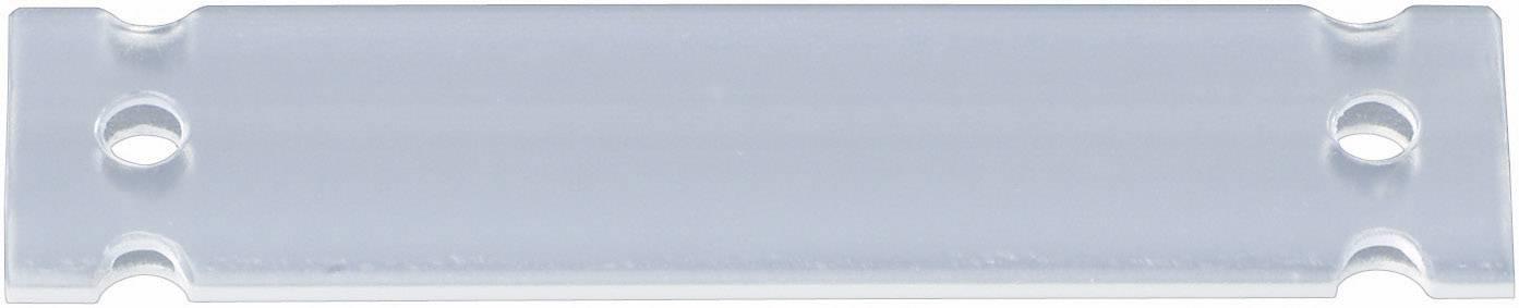 Evidenční štítek, 35 x 13 mm, průhledný, HC12-35-PE-CL