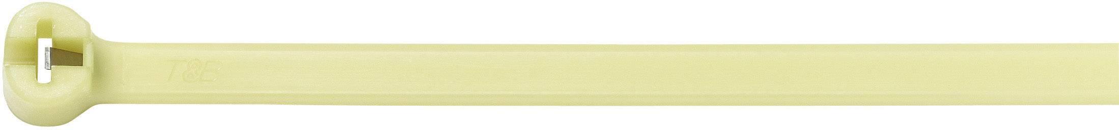 Stahovací pásky pro vysoké teploty Ty-Fast ABB TYHT23M, 92 mm, světle zelená