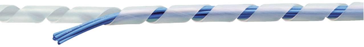 Špirálový káblový oplet KSS KSR8BK, 6 do 30 mm, 10 m, čierna