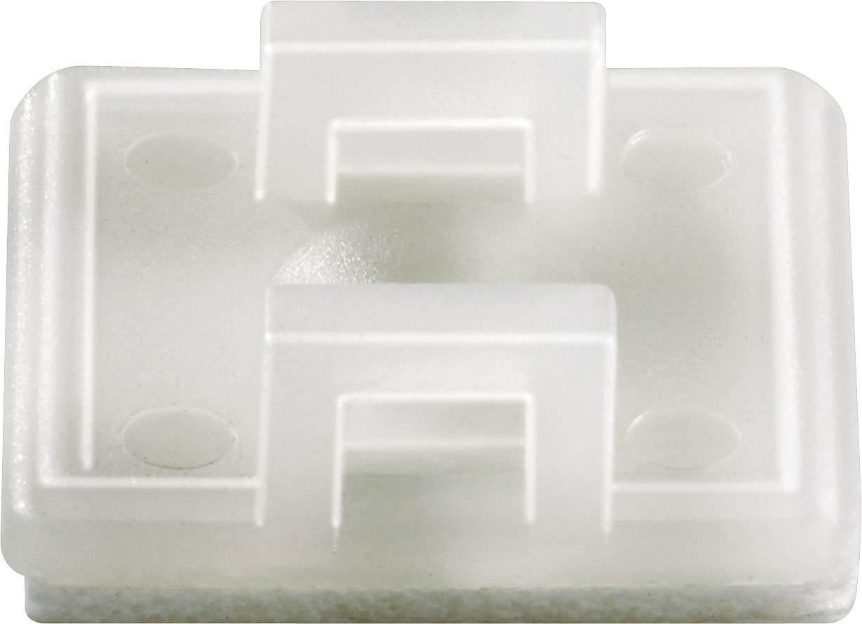 Úchytka KSS HC18T 545053, 7 mm (max), priehľadná, 1 ks