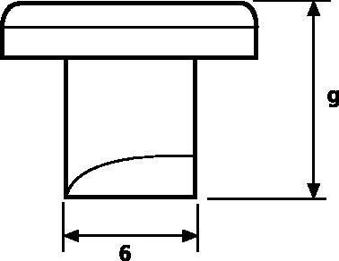 Kabelová úchytka HellermannTyton ZP1-N6-WH (181-45019), PA 6 (PA6), bílá