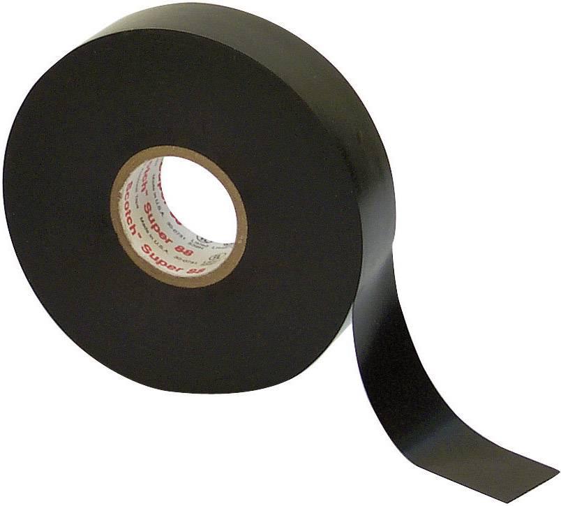 Izolačná páska 3M Super 88 80610139521, (d x š) 6 m x 19 mm, čierna, 1 roliek