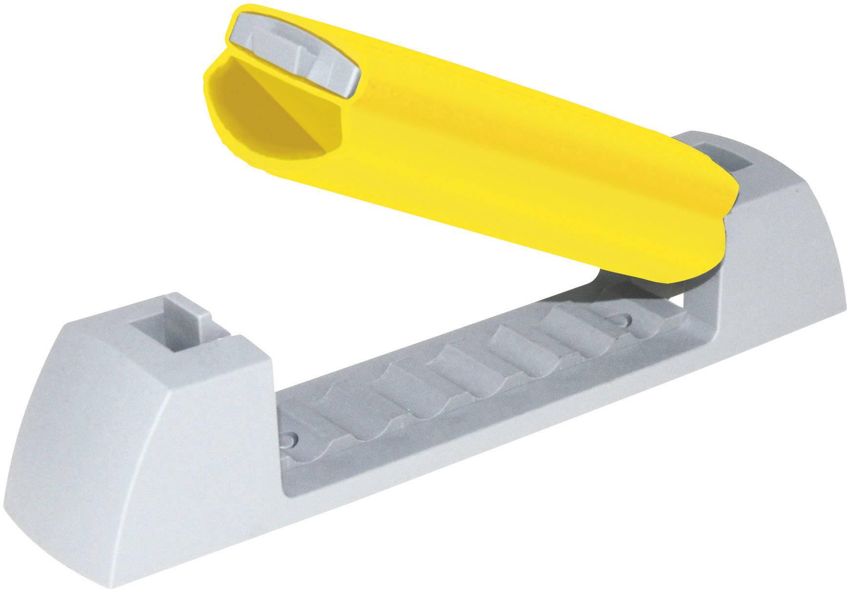 Klip k uchycení kabelů Serpa 5.07164.1003 5.07164.1003, samolepicí, 10 mm (max), světle šedá, žlutá, 1 ks