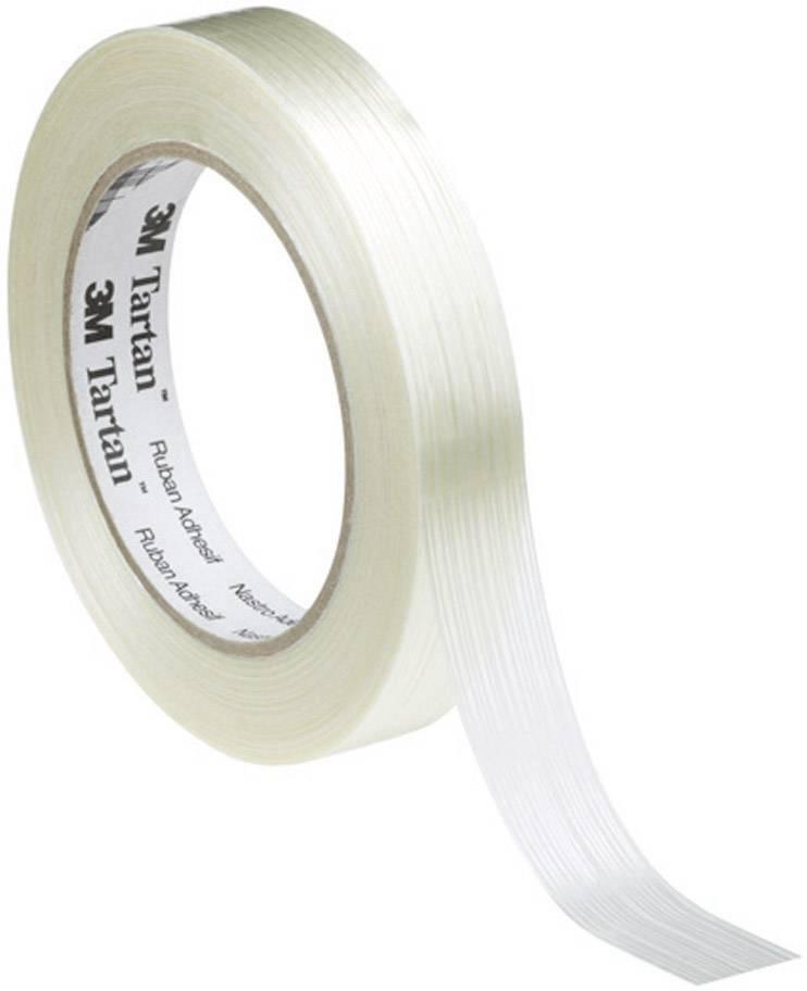 Vláknitá lepicí páska 3M 8953 KT-0000-4032-1, (d x š) 50 m x 25 mm, transparentní, 1 role