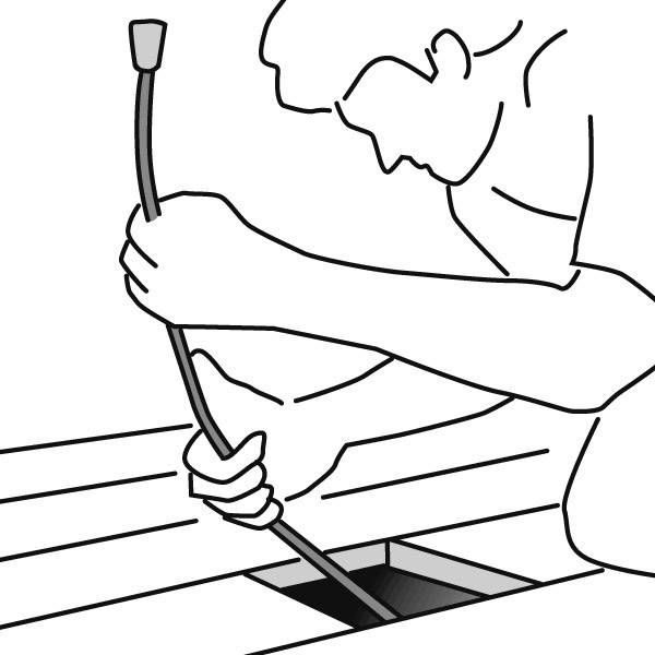 Násada na tyč HellermannTyton Cable Scout CS-AW