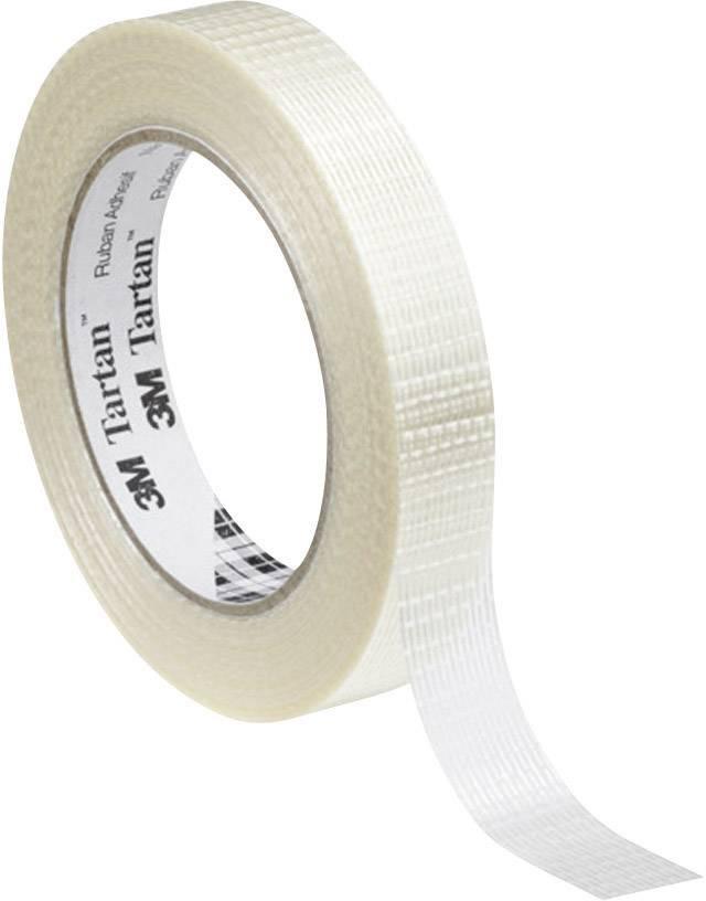 Vláknitá lepicí páska 3M 8954 KT-0000-4036-2, (d x š) 50 m x 50 mm, transparentní, 1 role