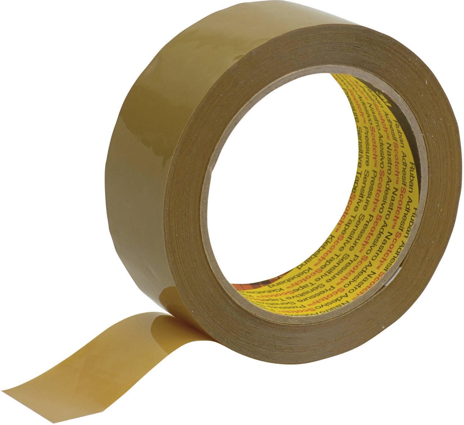 Lepicí páska 3M 305 KT-0000-3819-2, (d x š) 66 m x 50 mm, hnědá, 1 role