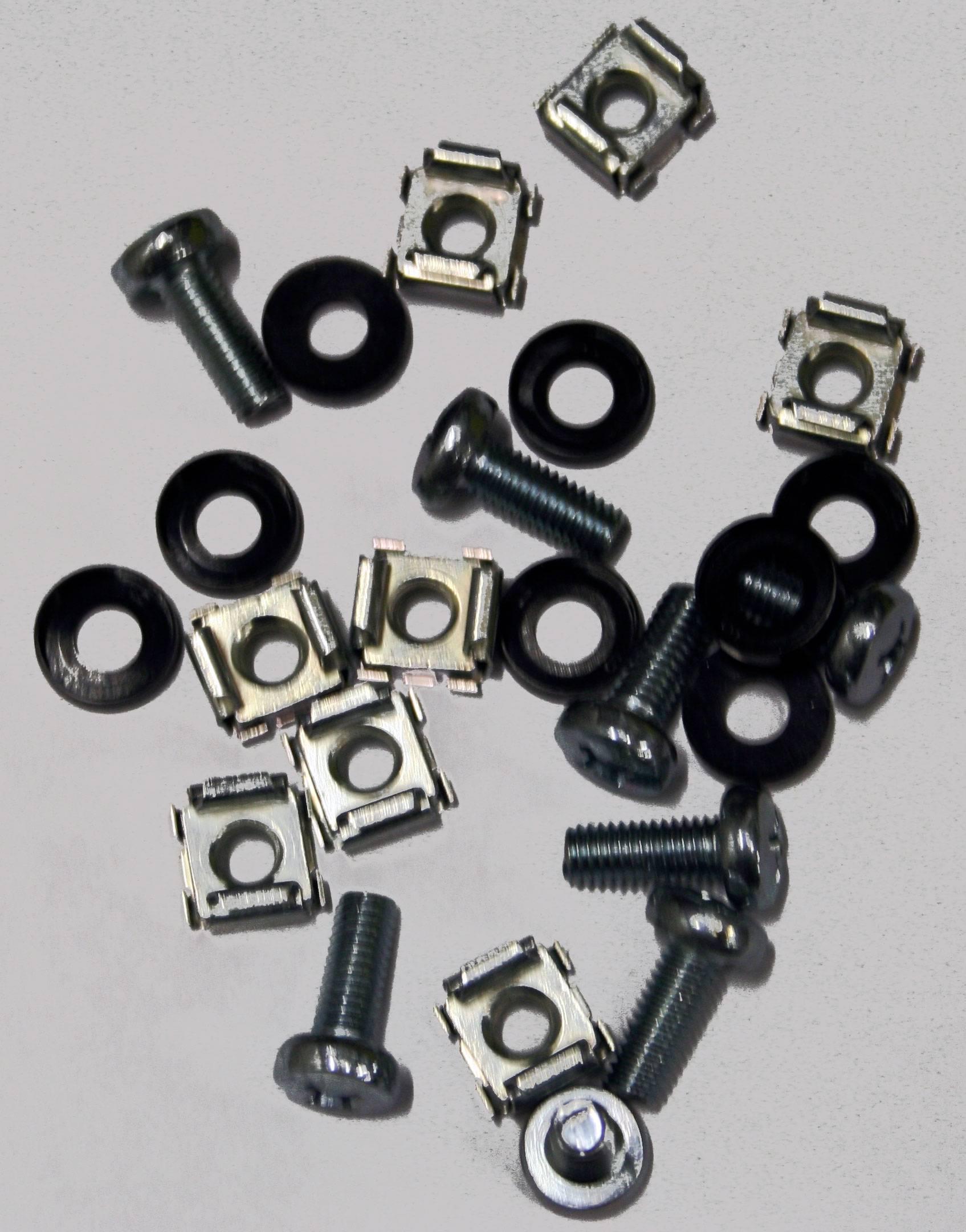 Upevňovací části pro nosné konstrukce Schroff