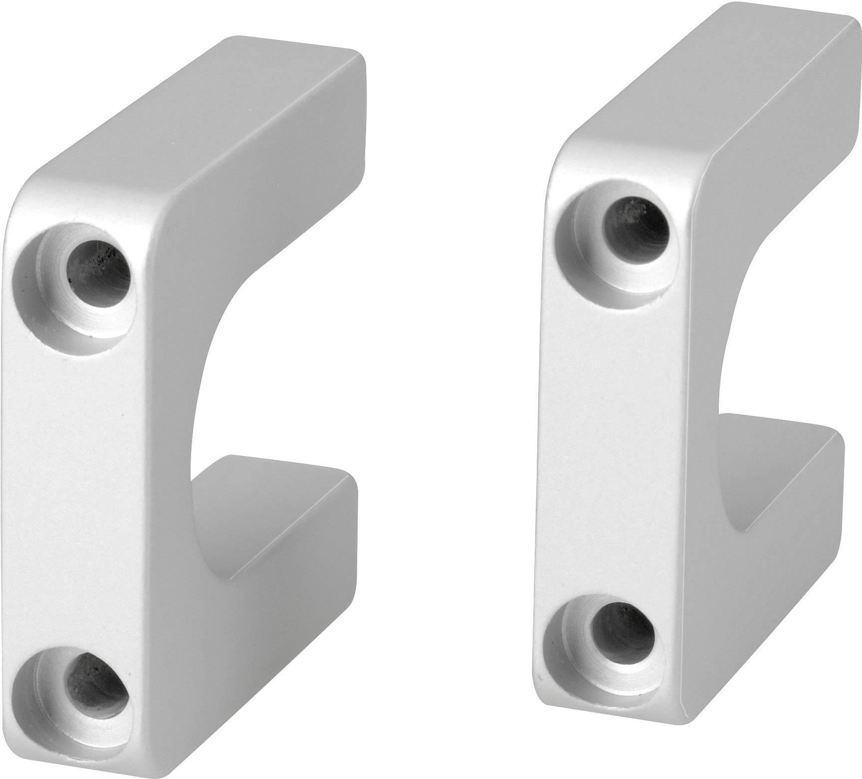 Rukoväť Schroff Multipac 20860-257, (d x š x v) 400 x 40 x 10 mm, umelá hmota, 1 ks