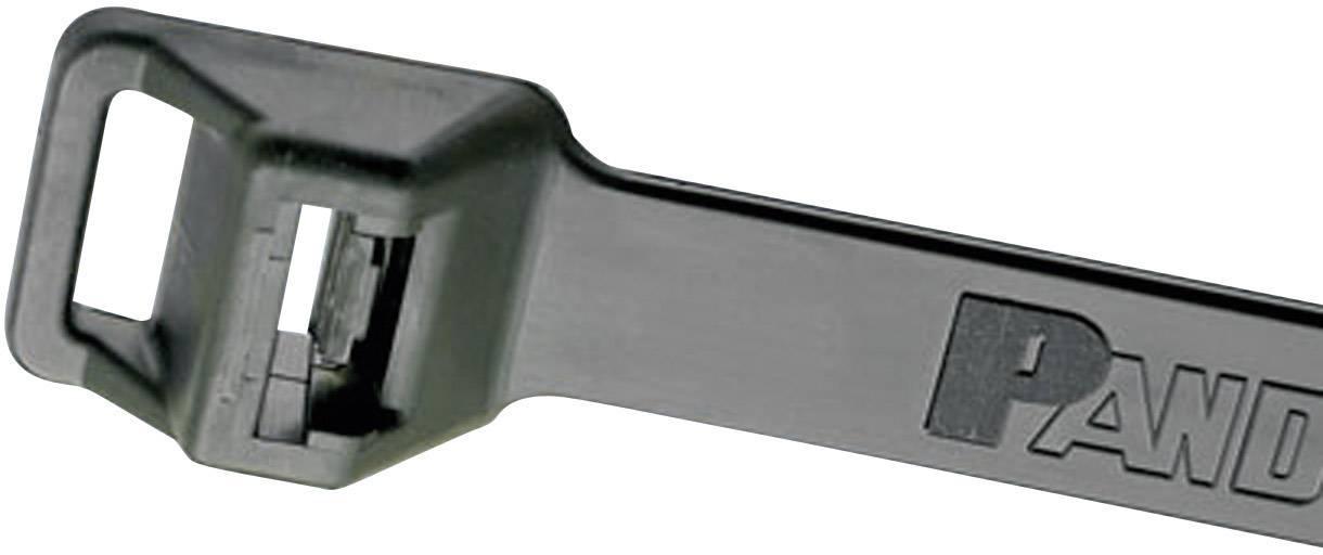Pan-Ty® Kabelska vezica za pritrditev (D x Š) 511 mm x 12.7 mm PLT5EH-C0 črna, (UV-odporna) 1 kos, Panduit