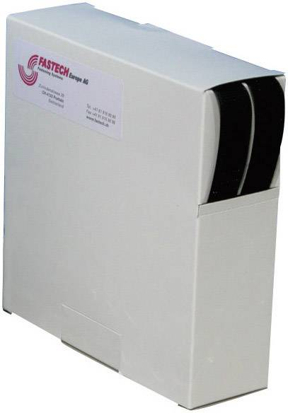 Lepiaci pásik so suchým zipsom Fastech B20-SKL999910, (d x š) 10000 mm x 20 mm, čierna, 10 m
