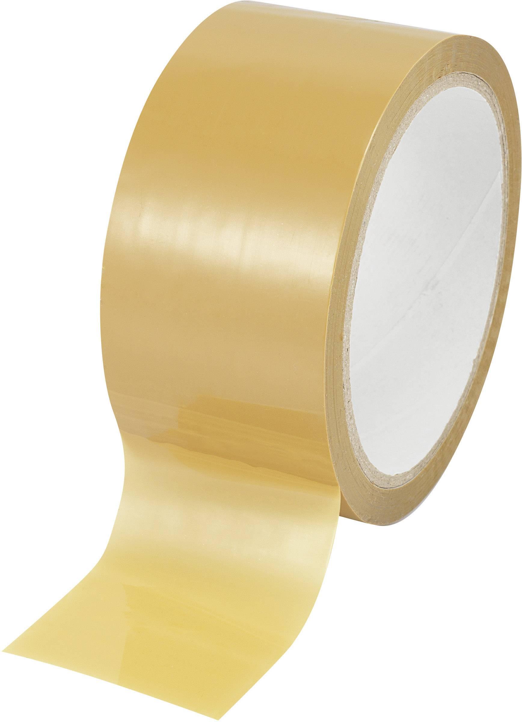 Lepiaca páska Basetech SH1998C350 SH1998C350, (d x š) 50 m x 48 mm, hnedá, 1 roliek