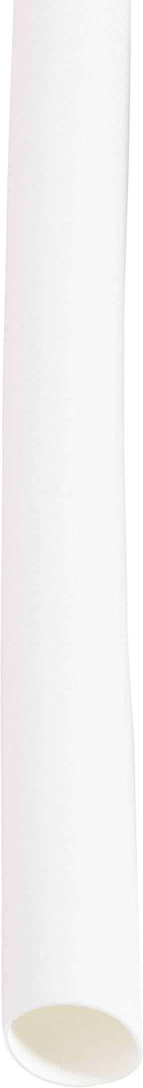 Sada zmršťovacých bužírok DSG Canusa 2810095902CO, 2:1, 4.70 mm /9.50 mm, biela, 1 sada