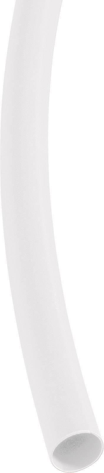 Smršťovací bužírka (1 m) 9/3 mm - bílá