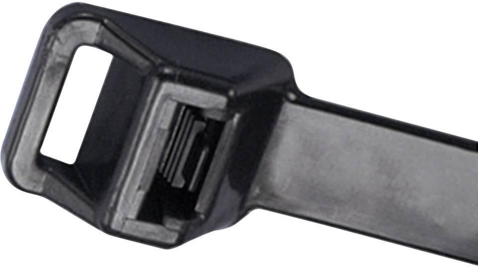 Sťahovacie pásky Panduit PRT2EH-C0 CV160L, 229 mm, čierna, 1 ks