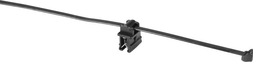 Sťahovacie pásky HellermannTyton T50ROSEC10-MC5-BK-D1 156-05904, 200 mm, čierna, 1 ks