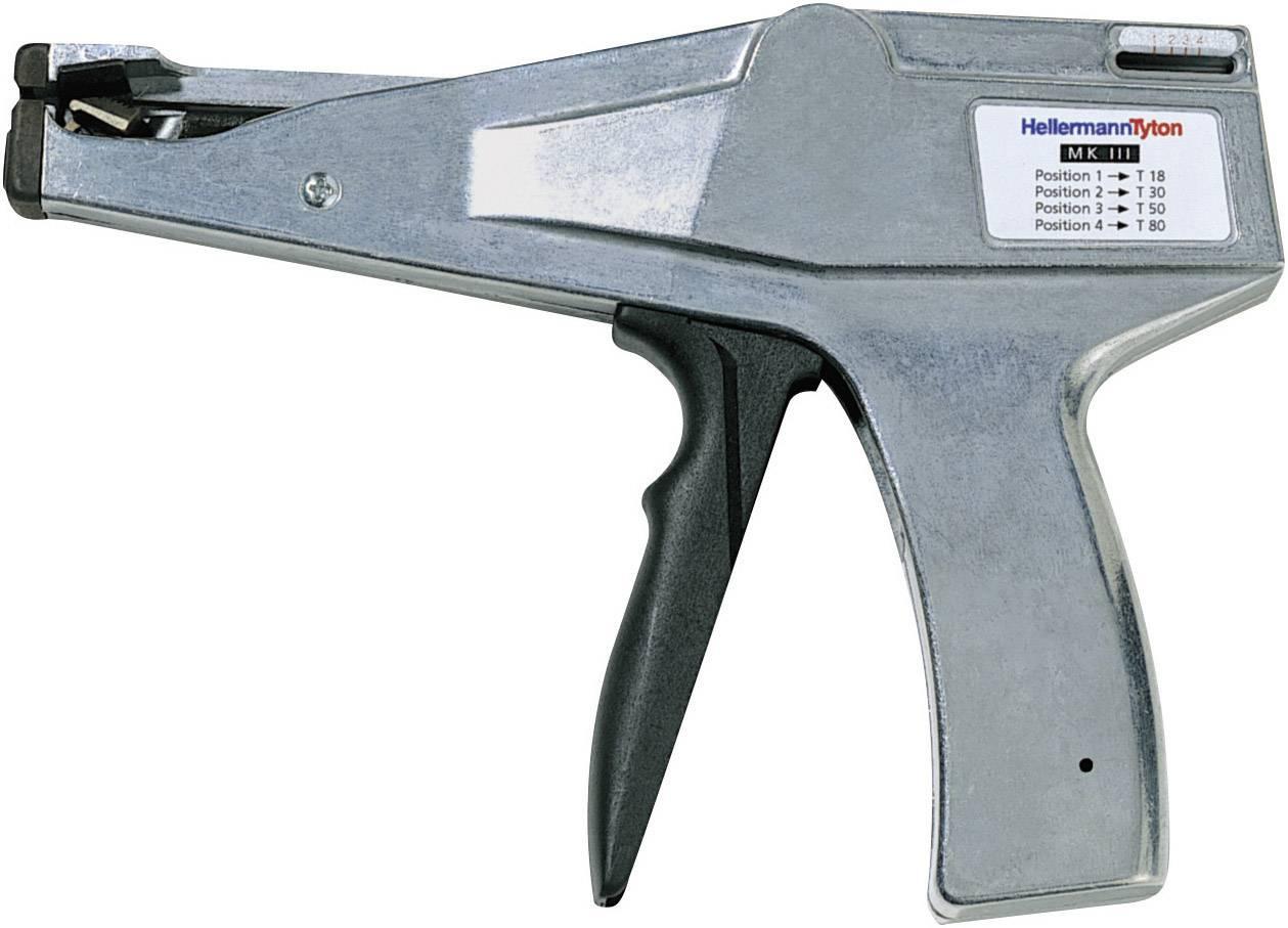 Manuálna pomôcka na spracovanie HellermannTyton MK3SP 110-03500 sivá, čierna