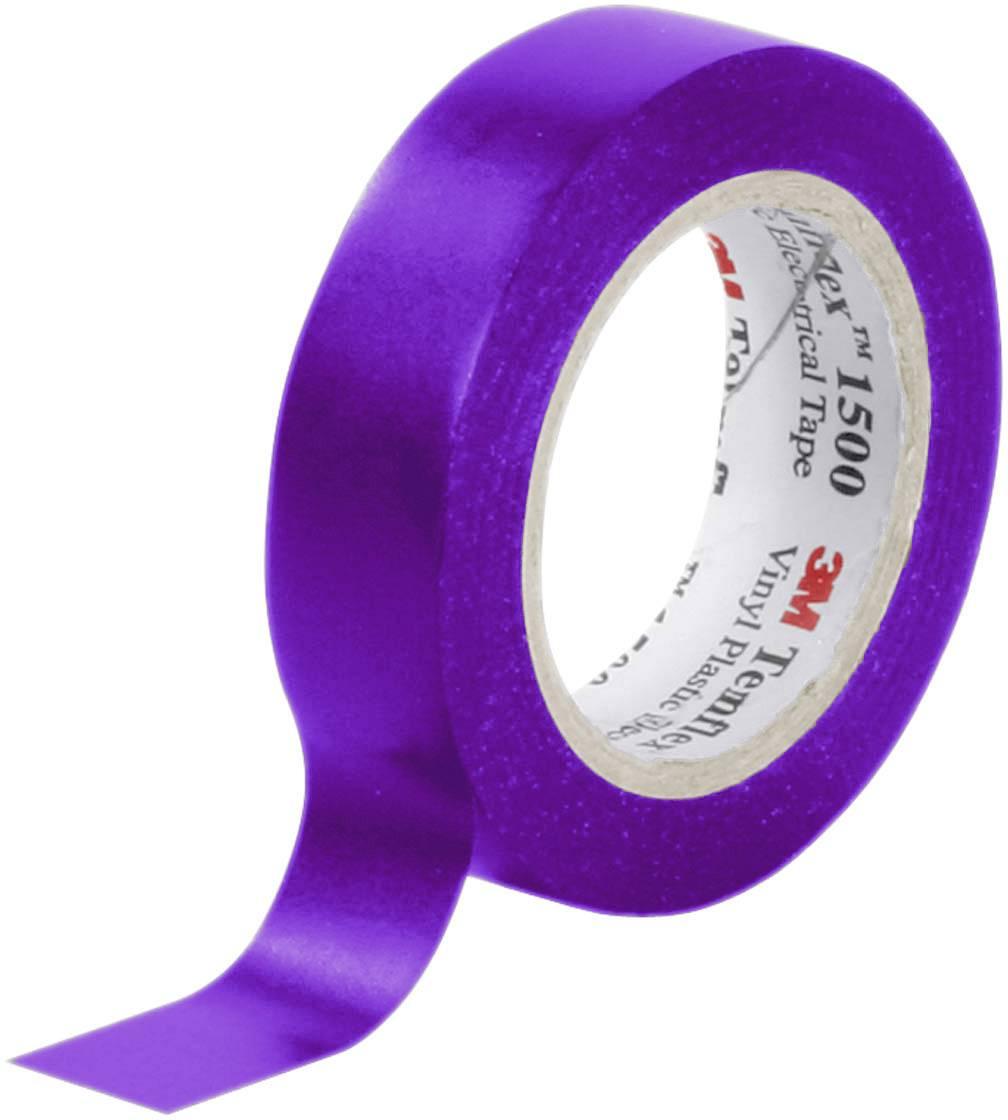 Izolačná páska 3M Temflex™ 1500 7000062280, (d x š) 10 m x 15 mm, fialová, 1 roliek