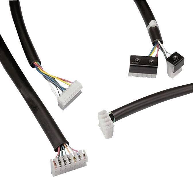 PVC izolačná hadica na el.vedenie Panduit TV105-1M20Y, vnútorný Ø 7 mm, čierna, metrový tovar