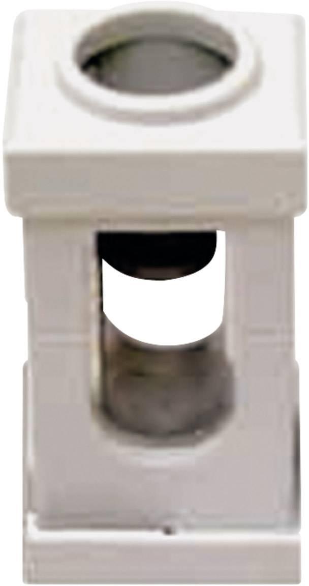 Svietidlové svorky CellPack AK-10 na kábel s rozmerom 1.5-10 mm², pólů 1, 1 ks, sivá