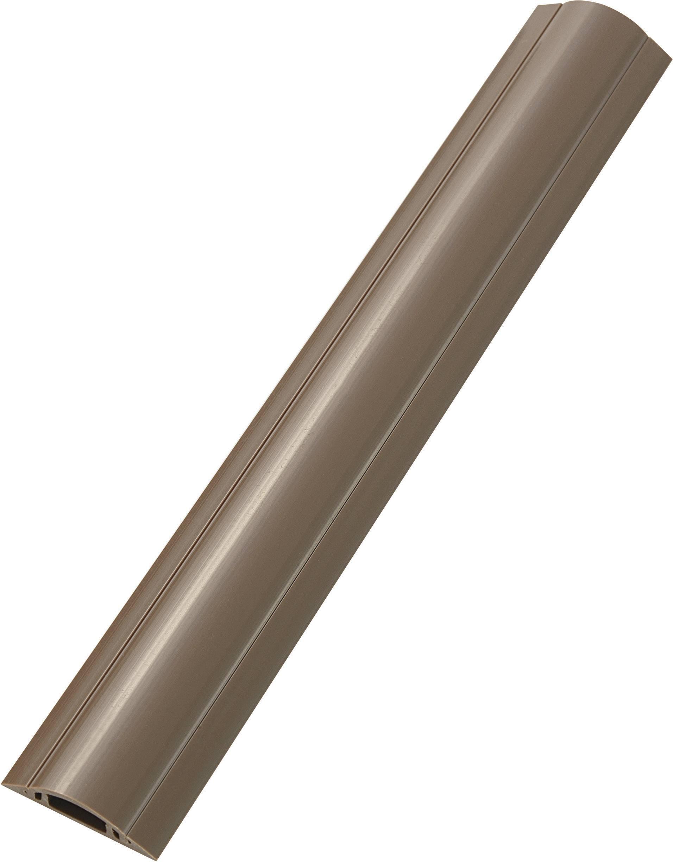 Káblový mostík TRU COMPONENTS 1592914 TC-RDAR30ABNWM203, (d x š x v) 1000 x 28.80 x 74 mm, hnedá, 1 ks