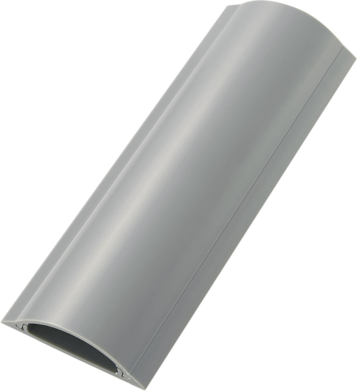 Kabelový můstek TRU COMPONENTS TC-RDAR70AWM203, (d x š x v) 1000 x 70 x 17 mm, šedá, 1 ks