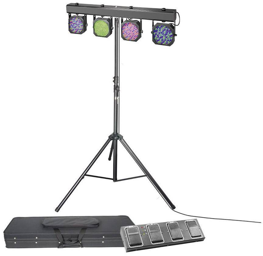 Sada LED bodového osvetlenia Cameo CLMPAR1SET2