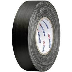Páska se skelným vláknem HellermannTyton HTAPE-TEX-BK-19X10 712-00204, (d x š) 10 m x 19 mm, kaučuk, černá, 1 ks