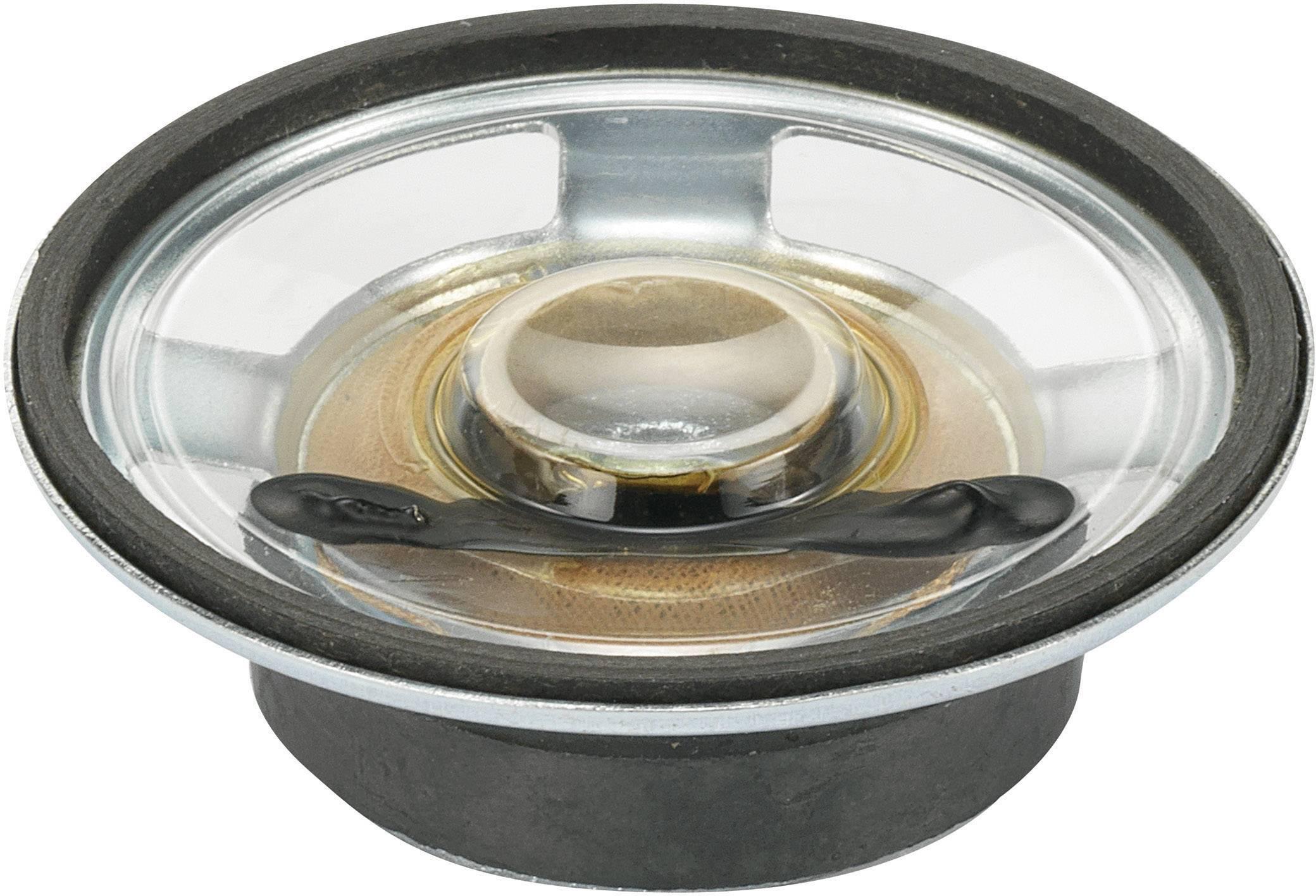 Miniaturní reproduktor Conrad YD50-1-8F32M-G, 84 dB
