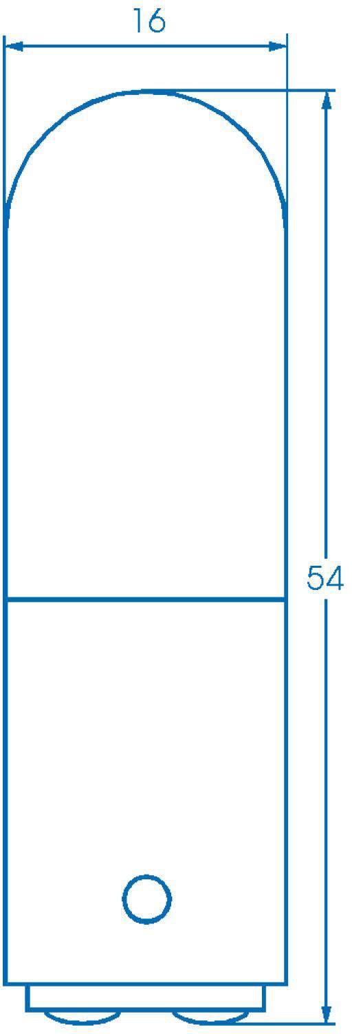 Žiarovka Barthelme 00122610, 220 V, 260 V, 6 W, 10 W, číra, 1 ks