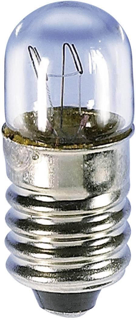 Malá trubková žárovka Barthelme 00210830, 300 mA, E10, 2,4 W, čirá, 8 V