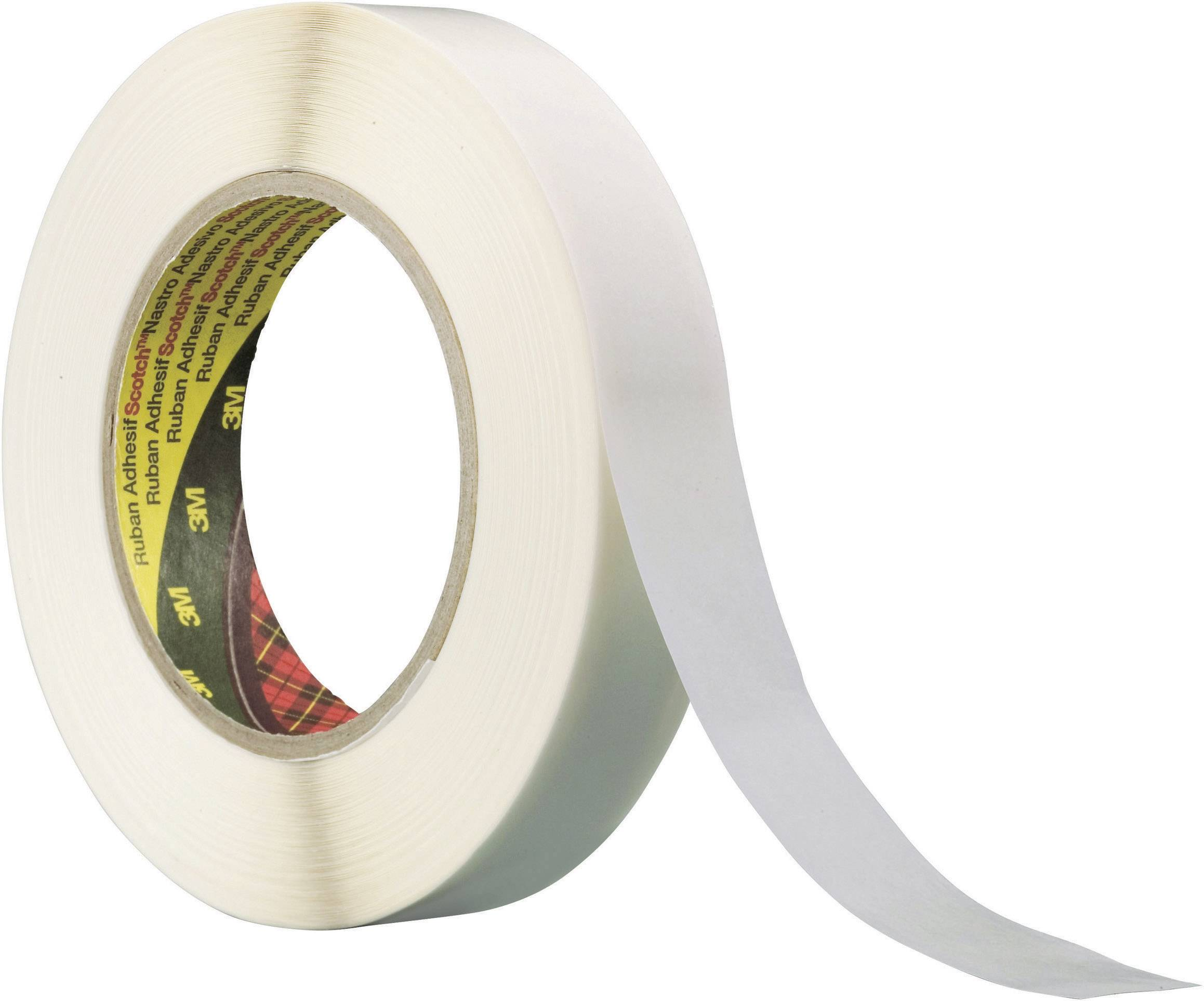 Obojstranná lepiaca páska 3M 983XL XT-0034-9005-6, (d x š) 50 m x 24 mm, krémová, 1 roliek
