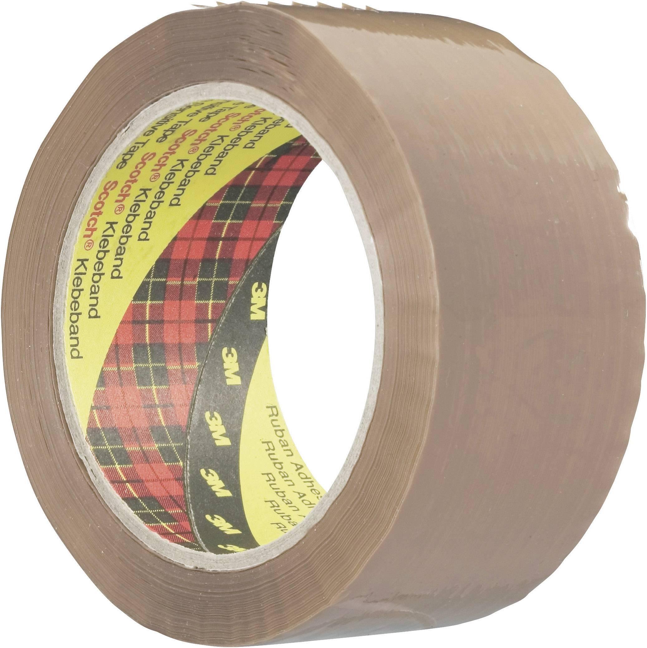 Lepiaca páska 3M SCOTCHTM 3739 KT-0000-2274-1, (d x š) 66 m x 50 mm, hnedá, 1 roliek