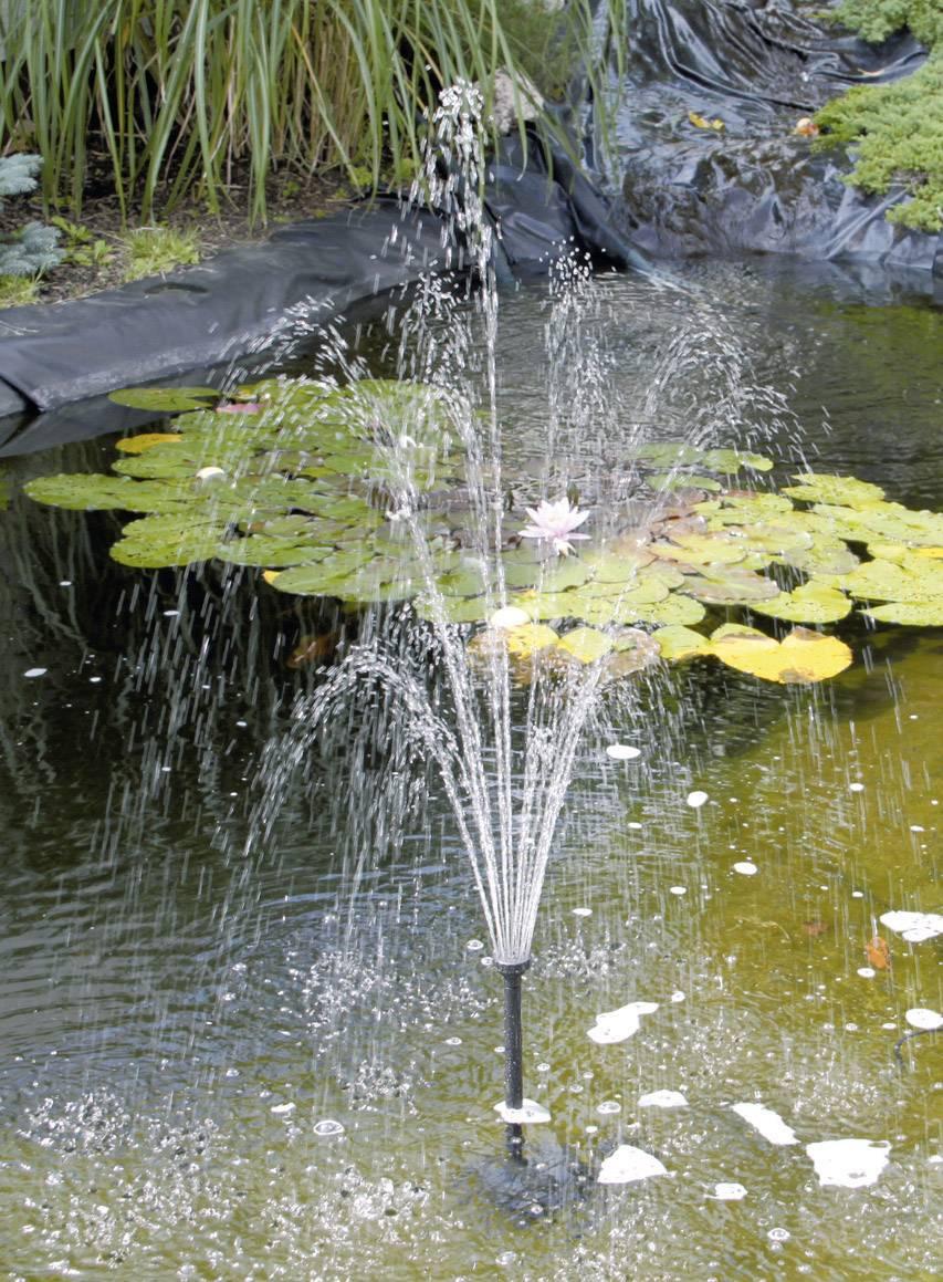 Solární zahradní fontána Esotec Siena, 101778, 1300 l/h, 1,7 m