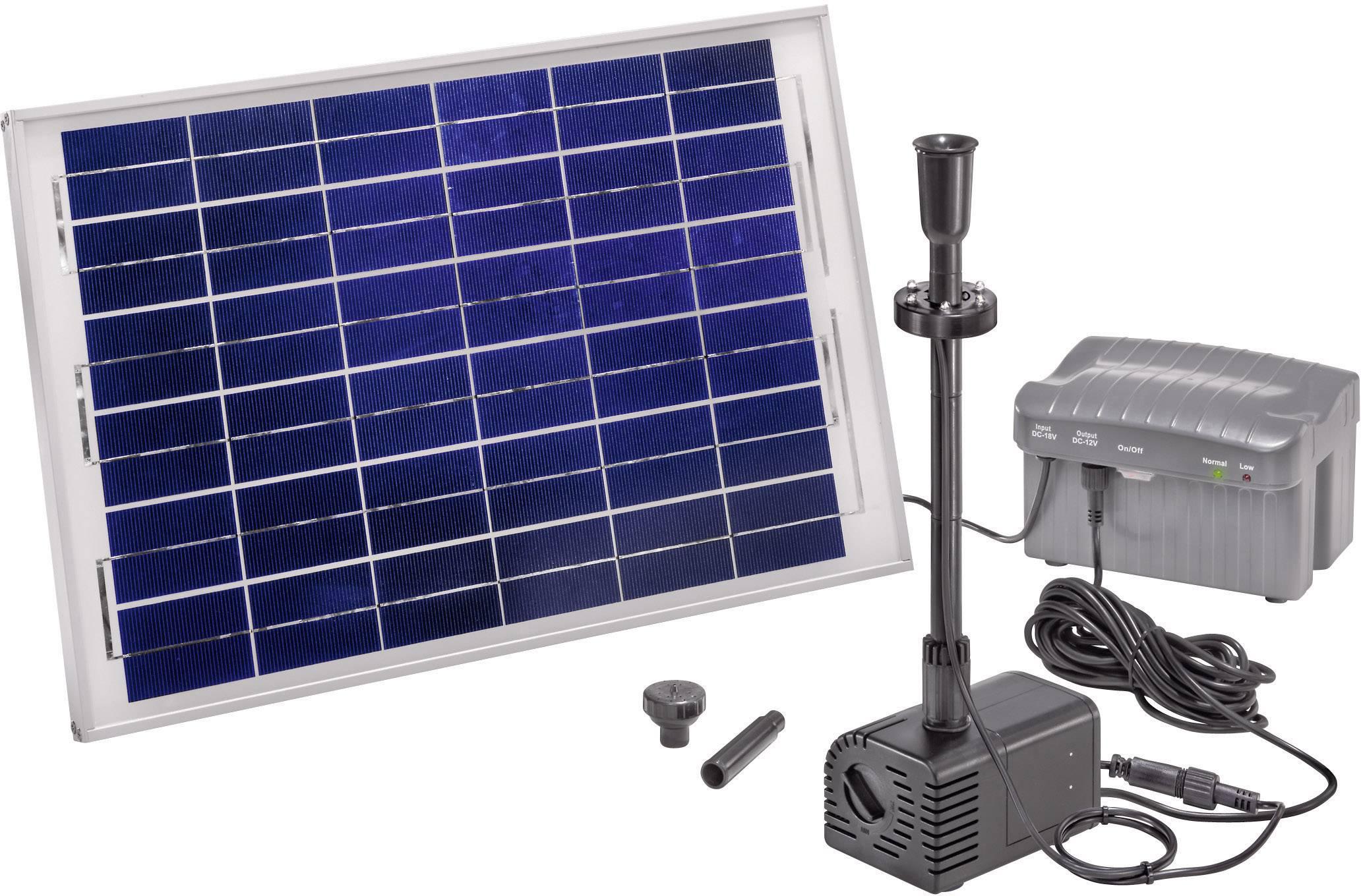 Solárna sada s čerpadlom Esotec Siena LED