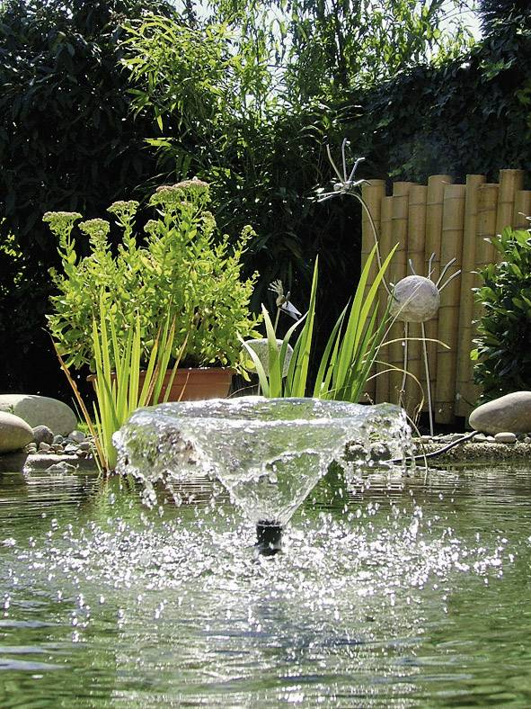 Záhradná fontána s čerpadlom Pontec PondoVario 2500
