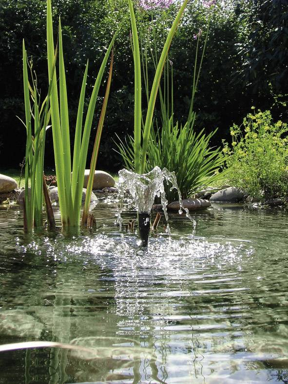 Záhradná fontána s čerpadlom Pontec PondoVario 1500
