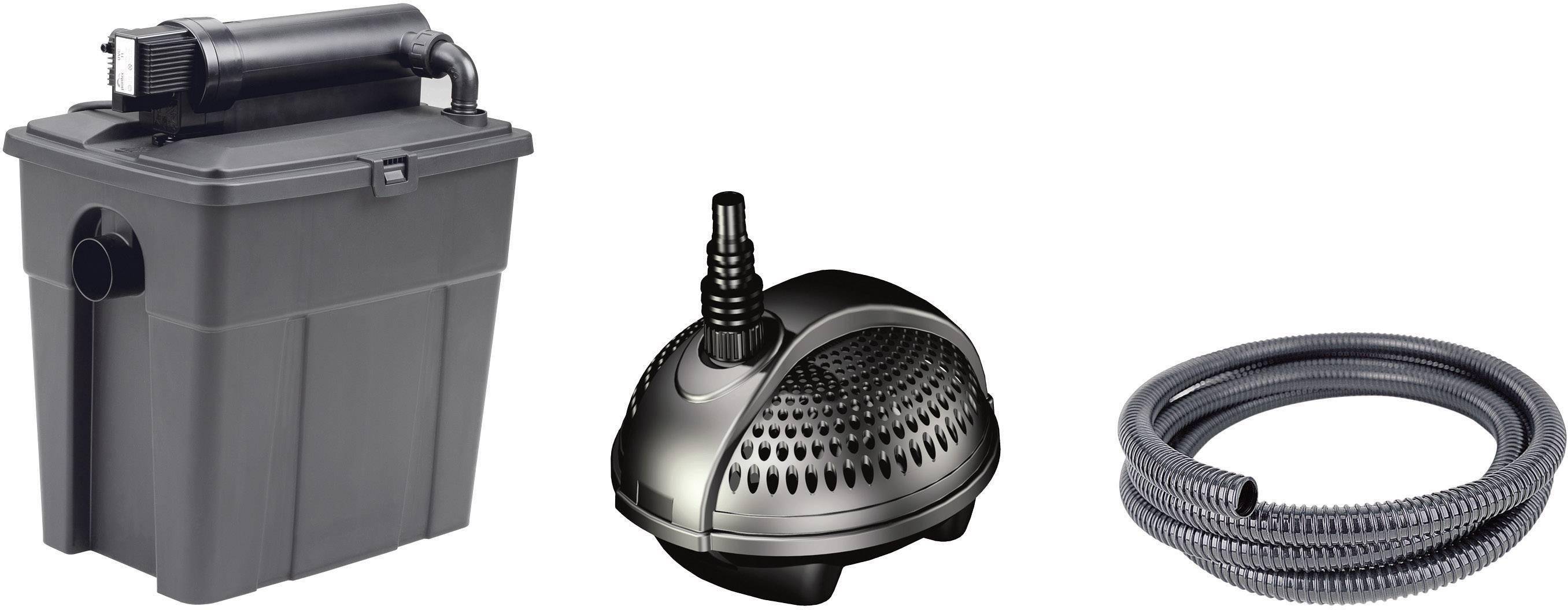 Filtrační sada k jezírkům Pontec 8000, vč. UVC, 40 W