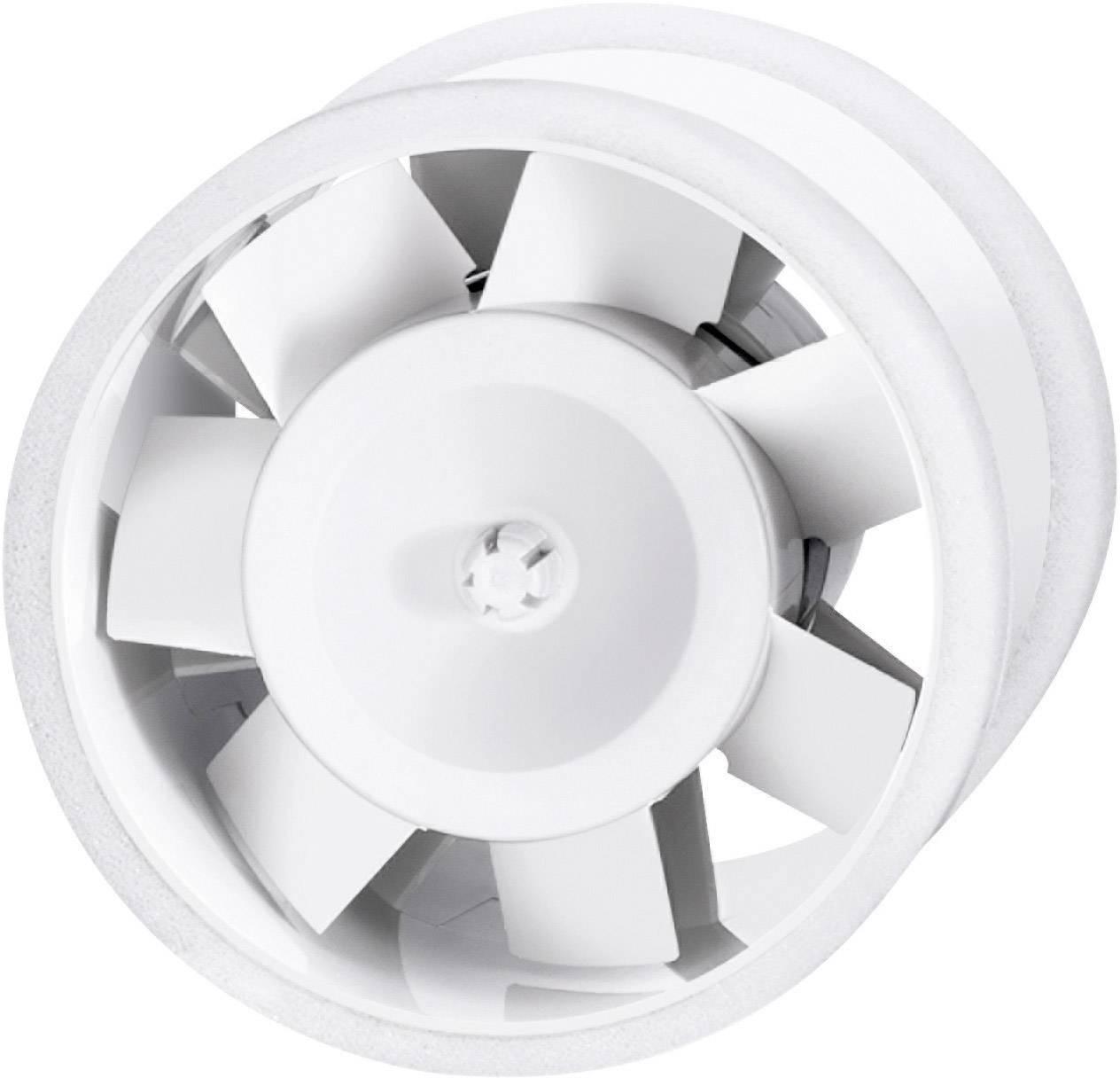 Ventilátor do potrubí Sygonix, 110 m³/h, 100 mm, bílá