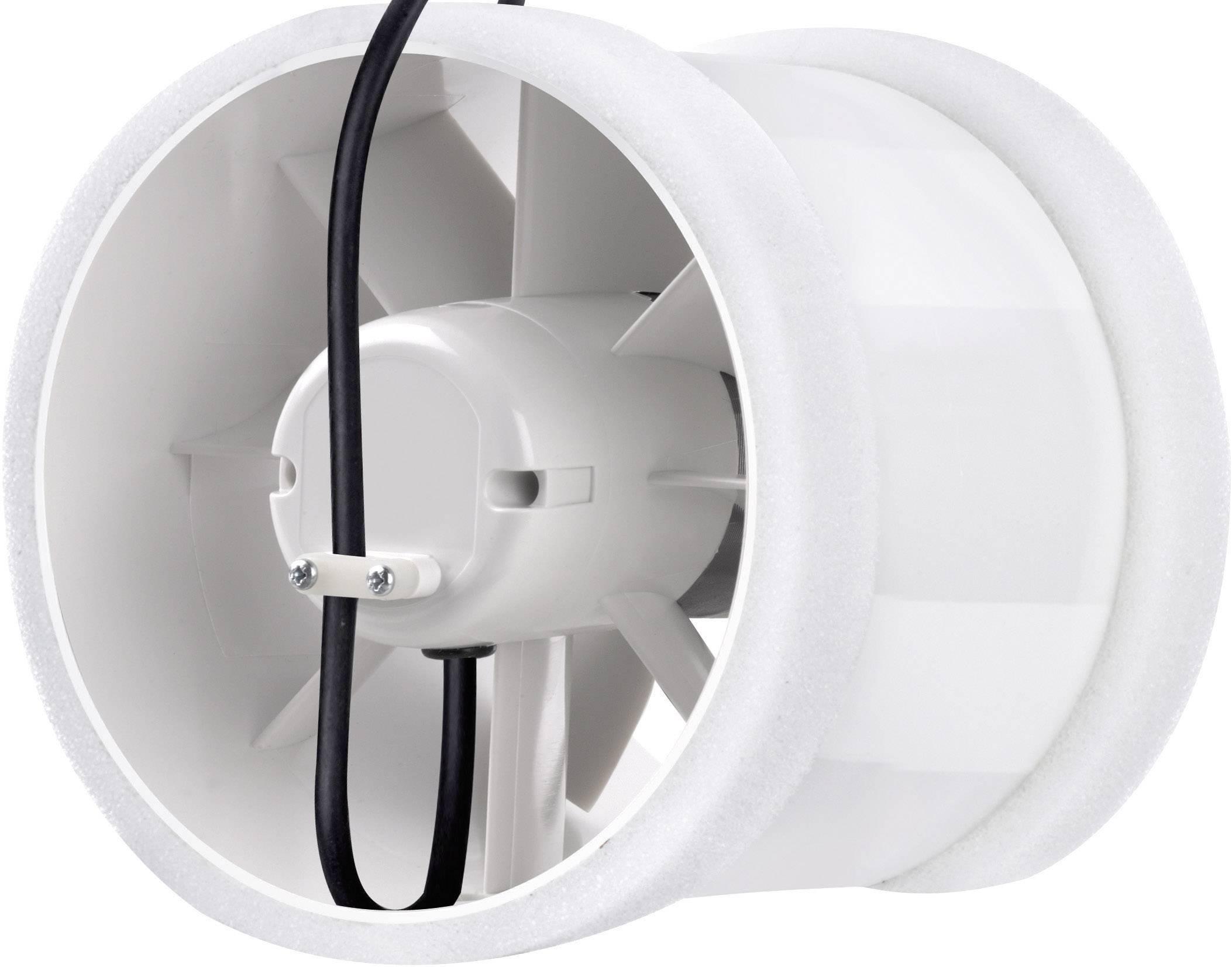 Ventilátor do potrubí sygonix 150 mm, bílá