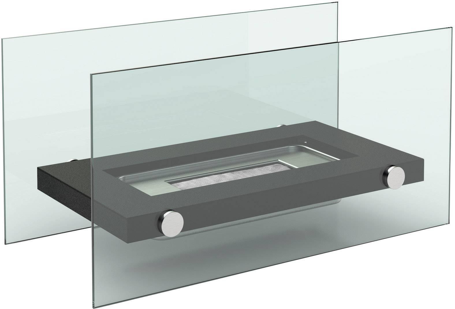 Bio krb na stôl FireFriend DF-6502, antracitová