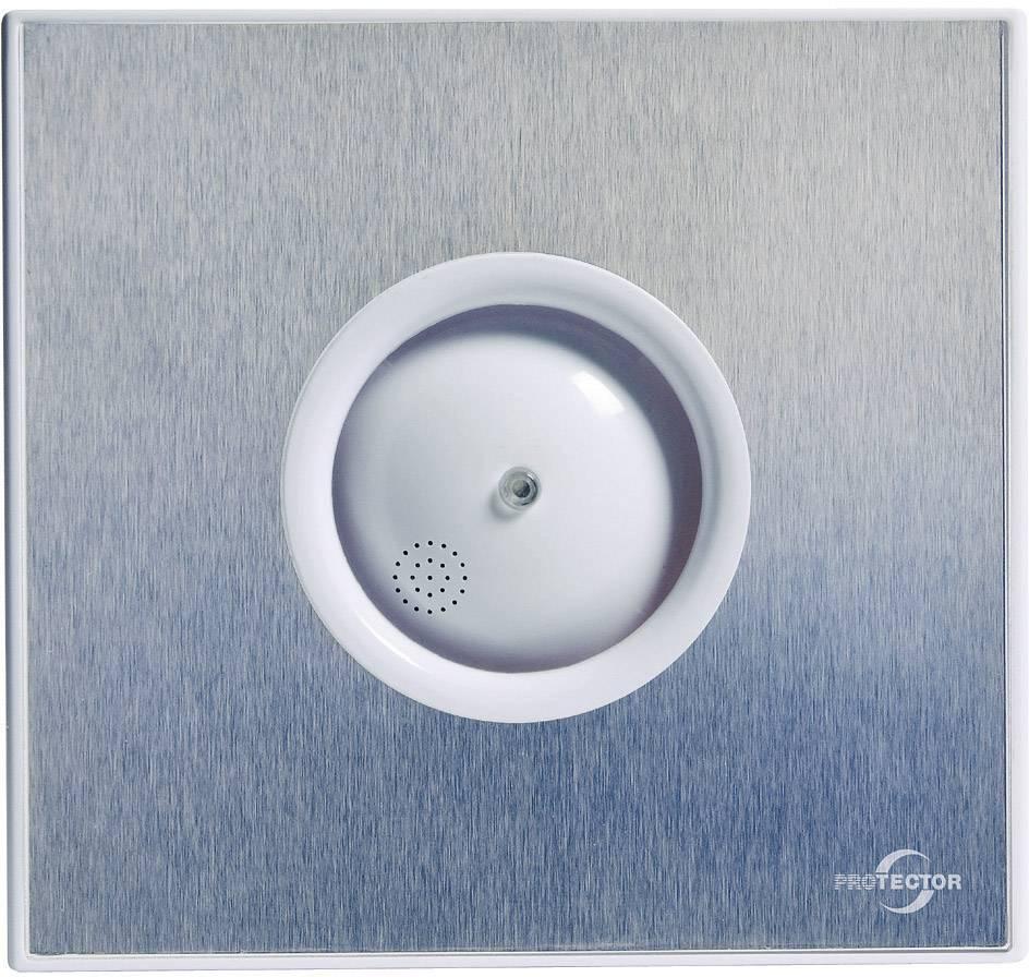 Nástenný a stropný ventilátor Protector ProAir Hygro, kartáčovaný nerez