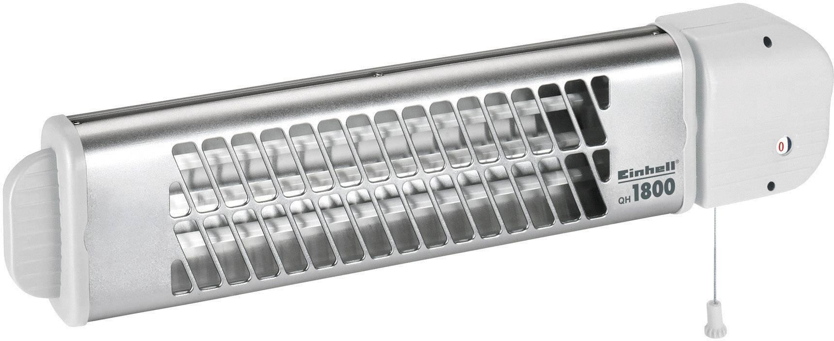 Křemenný infračevený zářič Einhell QH 1800 2338511, 600 W, 1200 W, 1800 W, bílá, stříbrná