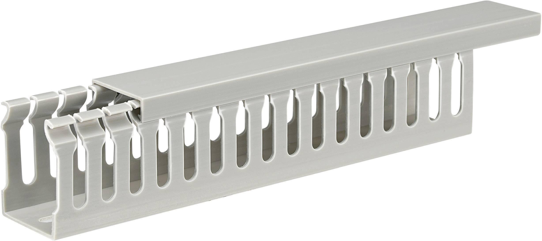 Elektroinstalační lišta, 33x45 mm, 2 m, šedá