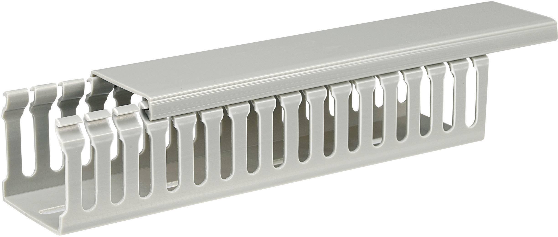 Elektroinstalační lišta, 45x45 mm, 2 m, šedá
