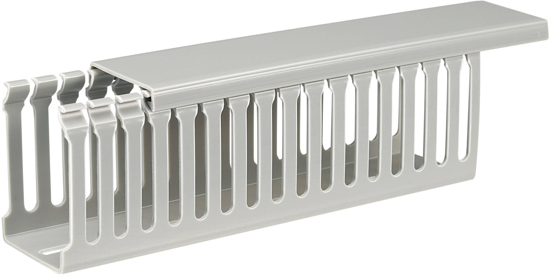 Elektroinstalační lišta, 45x65 mm, 2 m, šedá
