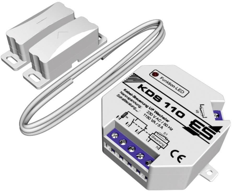 Odvětrávací systém pod omítku Schabus KDS 110, 230 V/AC, max. 1150 W