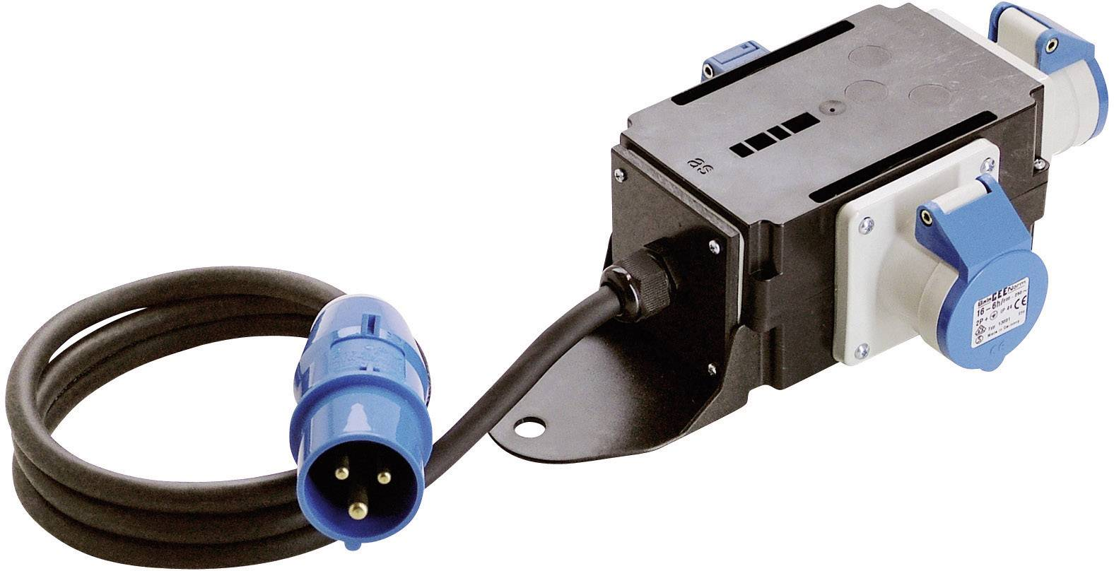 CEE rozbočovací zásuvka as - Schwabe MIXO Stromverteiler Ems 60496, 16 A, 230 V, 1.5 m