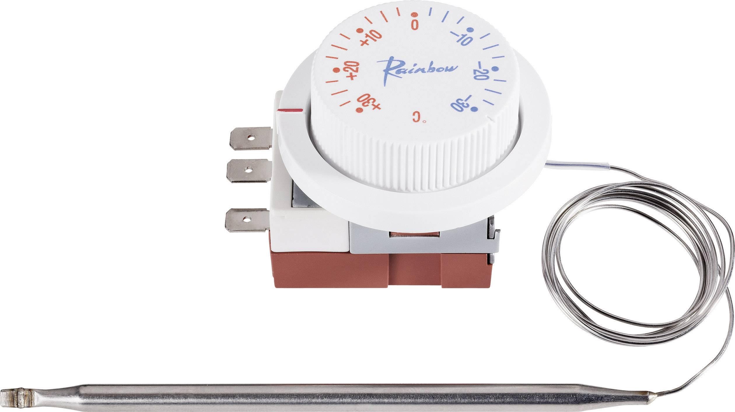 Vestavný termostat CE TS-030S R, -30 až 30 °C, bílá